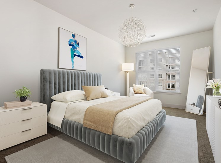 King Size Bedroom at Avenue Grand, White Marsh, Maryland